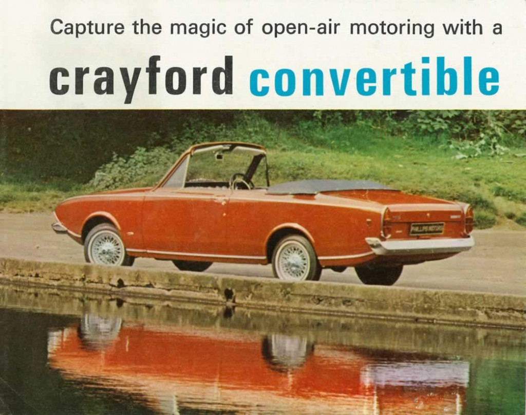 Crayford Corsair brochure cover