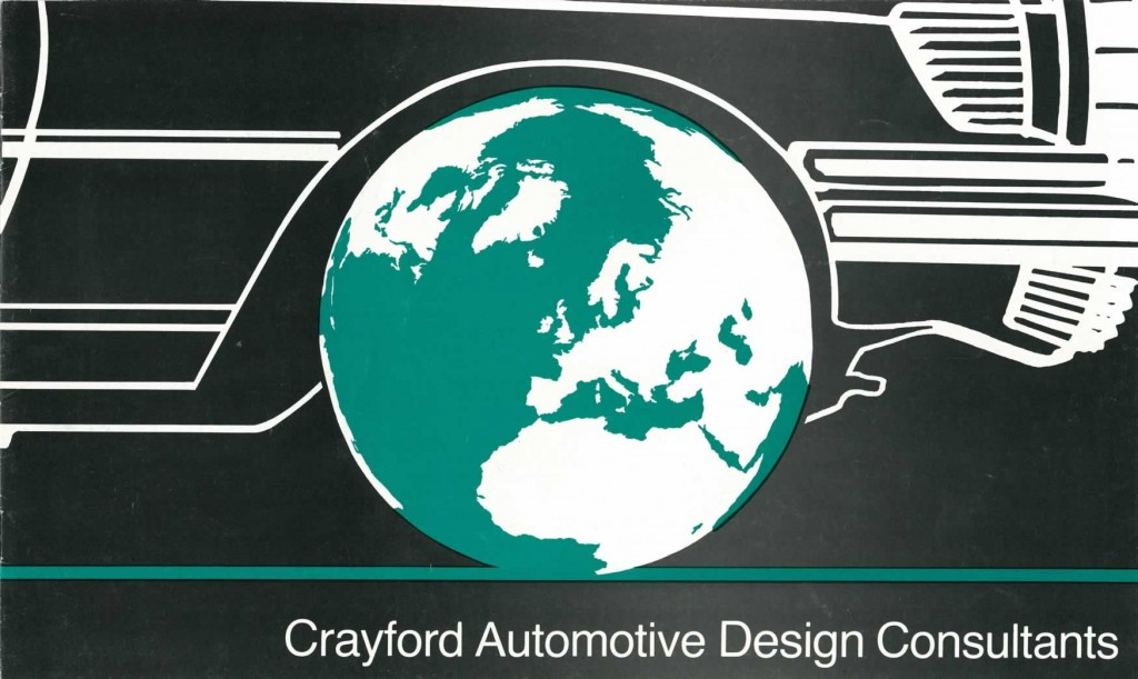 Crayford Automotive Design brochure front cover