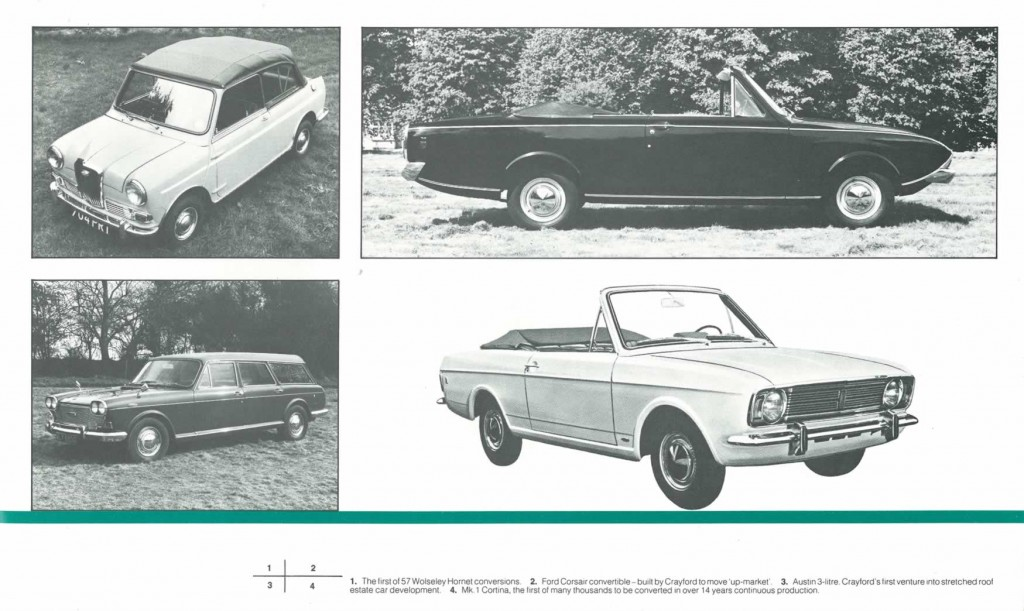 Crayford Automotive Design brochure page 3