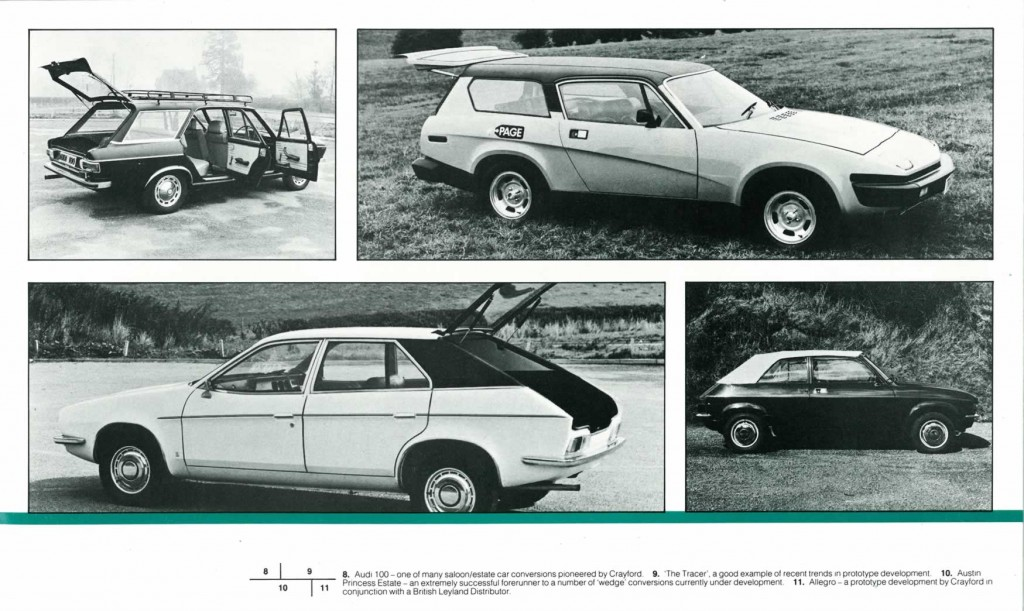 Crayford Automotive Design brochure page 5