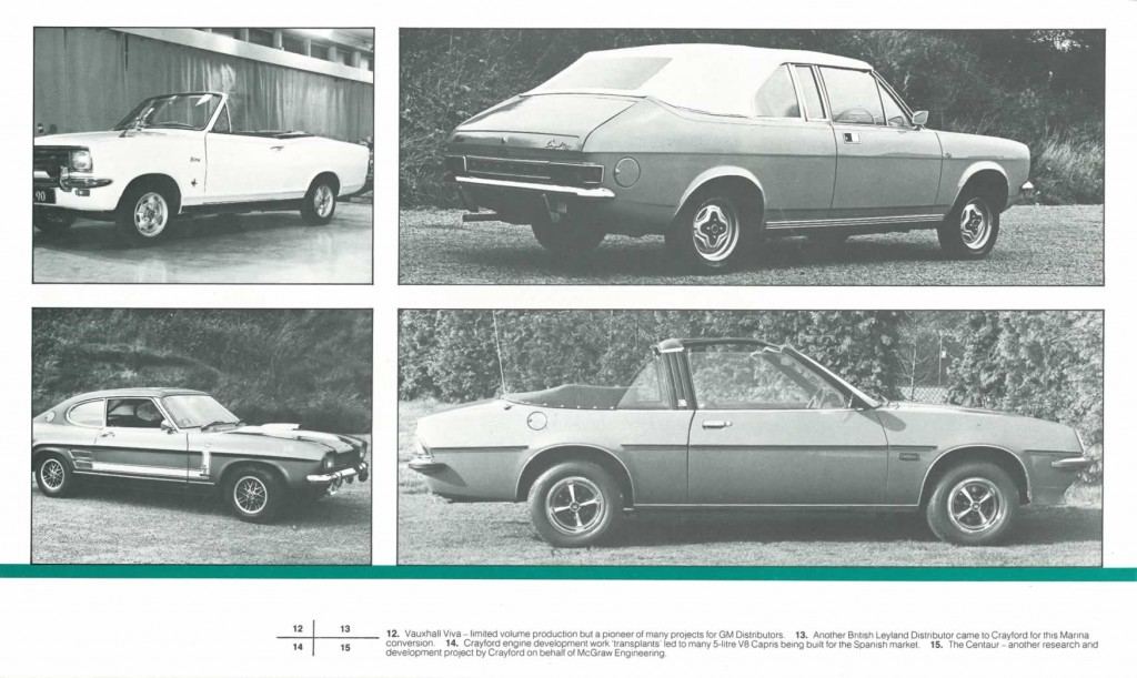 Crayford Automotive Design brochure page 6