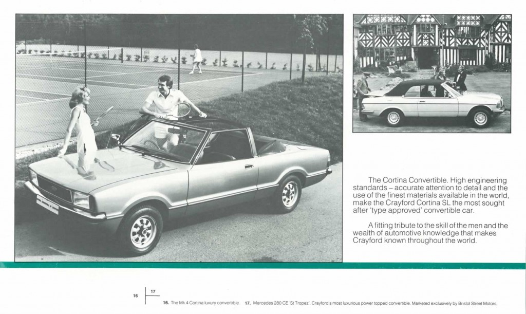 Crayford Automotive Design brochure page 7
