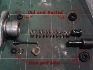 Brake Master Cylinder componnets