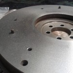 Skimmed Essex V4 flywheel