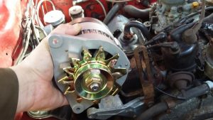 New Alternator (65amp) but something is wrong here - but 24 hours later I had the solution