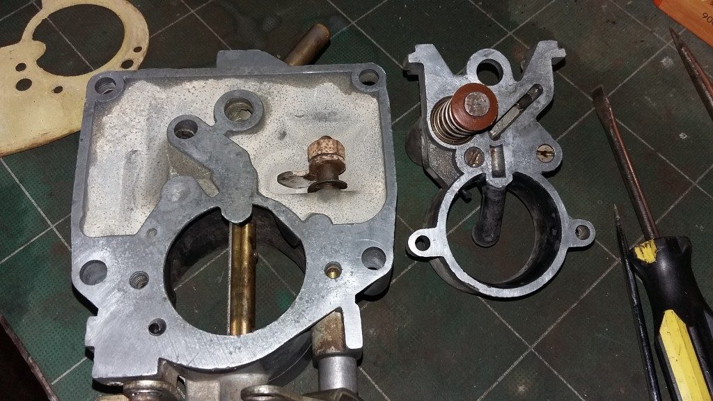 Zenith 361v carburettor cleaned for a second time.