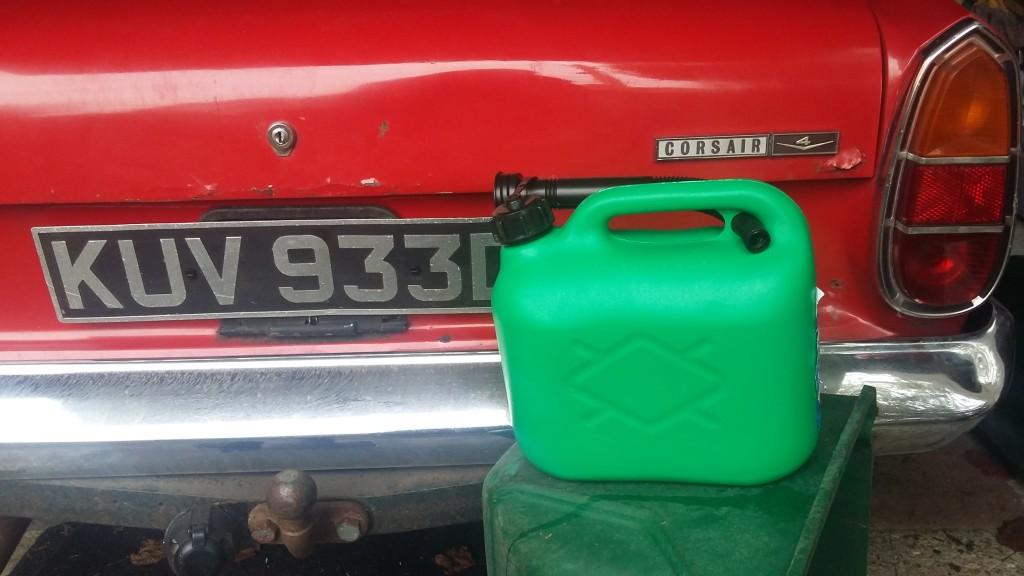 Gallon of 97 Ron fuel