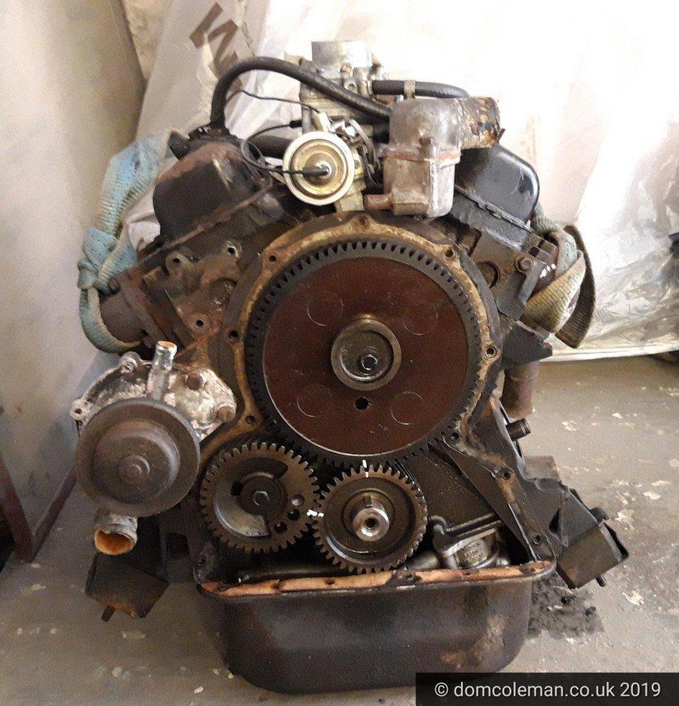 Ford V4 Essex 1700cc engine