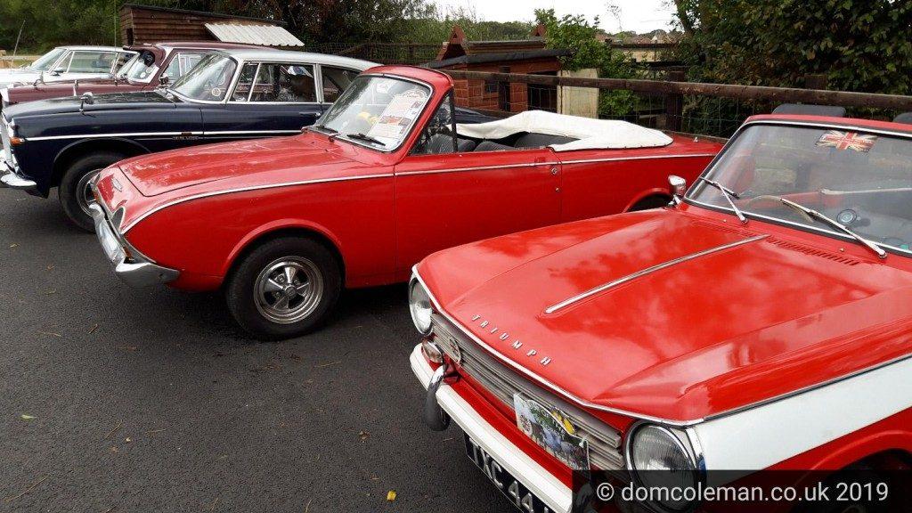 Triumph Herald, Ford Corsair, Rover P5B