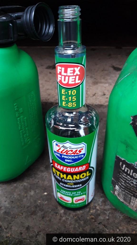 Lucas Ethanol additive